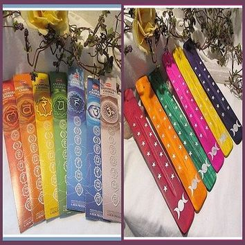 Triple Moon Chakra Incense Set