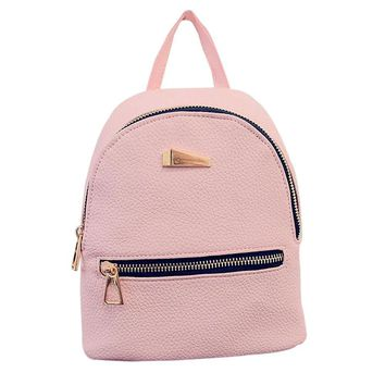 School Backpacks for kids for college Women leather bags