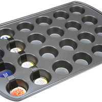 perfect results mini cupcake pan - 24 cavities