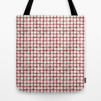 Marsala Pattern Tote Bag by Timone