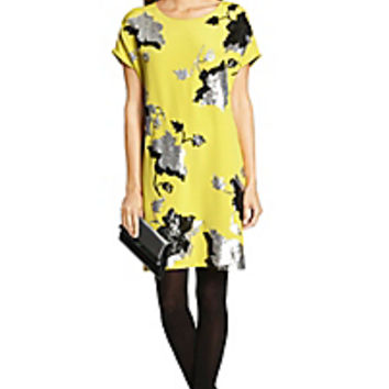 DVF Harriet Embellished Tunic Dress