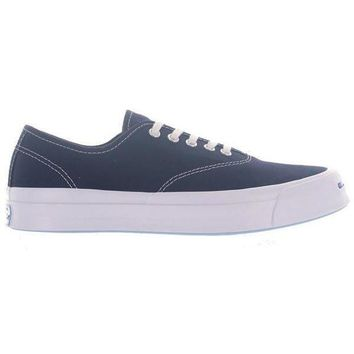 CREYUG7 Converse Jack Purcell Signature Cuo Navy - Inked Canvas Low Top Sneaker