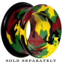 "5/8"" Acrylic Cloaked with Camouflage Tunnel Plug 