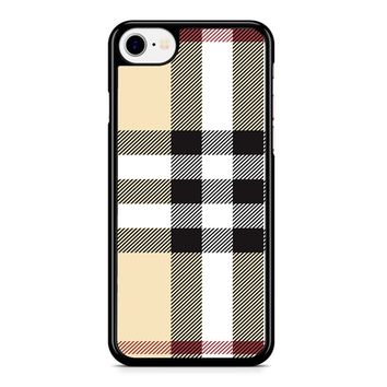 Burberry Pattern iPhone 8 Case