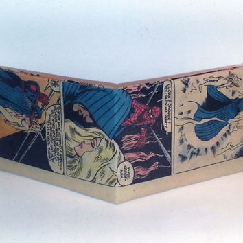 Comic Book Wallet// Spider-Man, Cloak, and Dagger