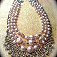 Every girl is a princess bib necklace