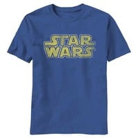 Star Wars Logo T-Shirt at Old School Tees | Vintage Movie T-Shirt