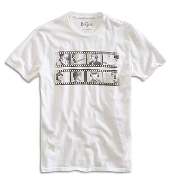 Lucky Brand Beatles Film Strip Mens - Marshmellow
