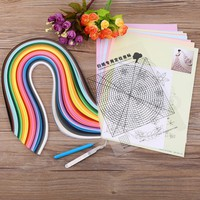 6 In 1 DIY Quilled Creation  Quilling Tools Set Crafts And For Party Gift Decoration