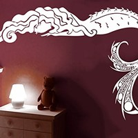 Wall Decal Mermaid Sea Shells Nautical Decor Vinyl Sticker Decals Bathroom Nursery Baby Room Home Bedroom Decor Art Design Interior C516