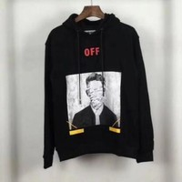Off White Fashion Hip Hop Top Sweater Pullover Hoodie Sweatshirt