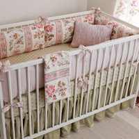Blush Hortense Girl Crib Bedding Set
