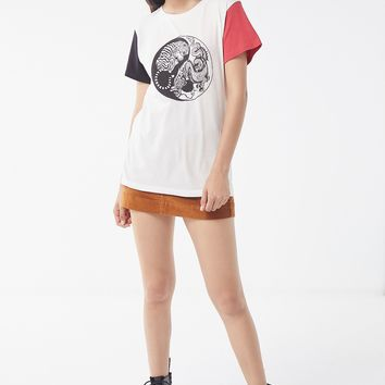 Desert Dreamer Yin-Yang Colorblock Tee | Urban Outfitters