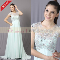 Emerald Green Evening Dress for 2014 Simple Long Mint Green Beaded Chiffon Wedding Dress China Supplier summer evening dress, View emerald green evening dress, Choiyes prom Dress Product Details from Chaozhou Choiyes Evening Dress Co., Ltd. on Alibaba.com