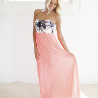 Special Treatment Maxi Dress