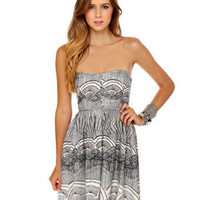 O'Neill Distance Dress - Strapless Dress - Print Dress - $46.00