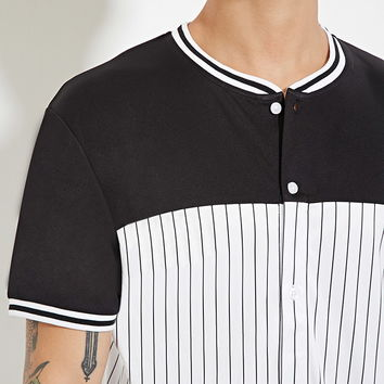 Stripe Baseball Jersey | 21 MEN - 2000150419