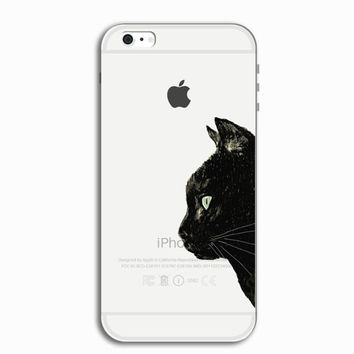 Cool Black Cat Personal Tailor iPhone 7 7 Plus & iPhone 5s se 6 6s Plus Case Cover + Gift Box-466