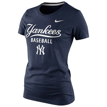 New York Yankees Women's Practice T-Shirt 1.4 by Nike - MLB.com Shop