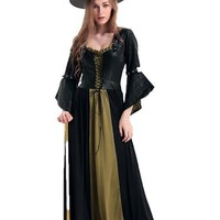 Evening Enchantress Long Dress Halloween Costumes Adults