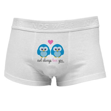 Owl Always Love You - Blue OwlsMens Cotton Trunk Underwear by TooLoud