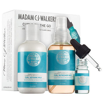 Sephora: Madam C.J. Walker Beauty Culture : Curls on the Go : hair-care-sets