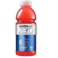 Vitamin Water Zero Go-Go Mixed Berry 20 oz Bottles - Case of 24