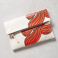 Clare V. Bow Foldover Pouch
