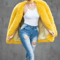 Celeste Faux Fur Coat(Ready to Ship)