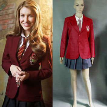House of Anubis Girl school uniform cosplay costume     Halloween