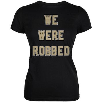 No Call We Were Robbed Juniors Soft T Shirt