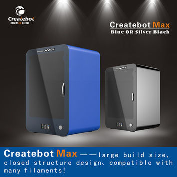 Free shipping!2015 New Createbot Max 3D Printer with touchscreen