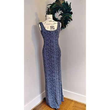 Women's Betsy and Adam Slinky Evening Gown