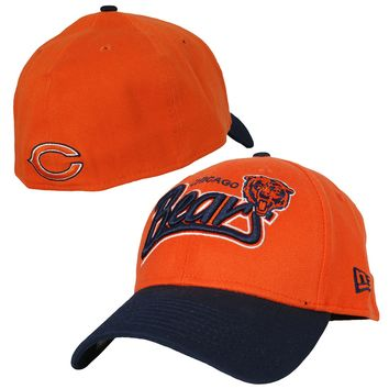 Chicago Bears Two Tone Tail Swoop Flex Fit Hat