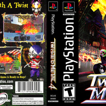 Twisted Metal 4 - Playstation (Very Good)