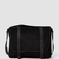 Mens Thorpe Messenger Bag (Black) | ALLSAINTS.com