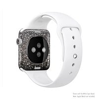 The Black Unfocused Sparkle Full-Body Skin Set for the Apple Watch