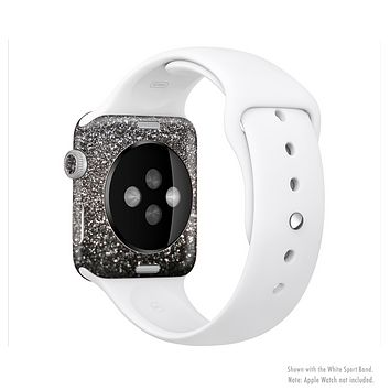 The Black Unfocused Sparkle Full-Body Skin Kit for the Apple Watch