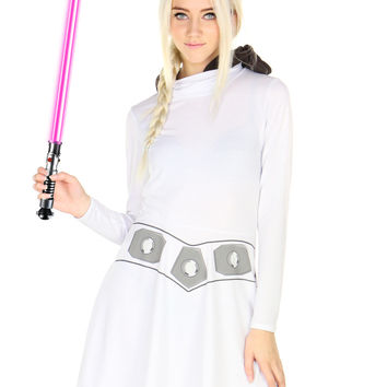 PRINCESS LEIA SKATER DRESS