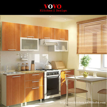 Melamine MFC Kitchen Cabinets modern designs from China