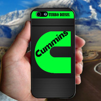 Cummins Turbo Diesel - Print on hard plastic case for iPhone case. Select an option