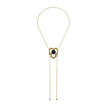 House of Harlow 1960 Patolli Bolo Necklace