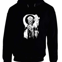 Ghost Band Papa Black And White Hoodie