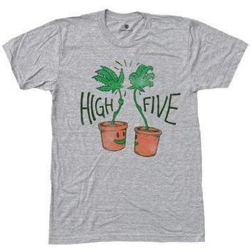 High Five - Heather Grey