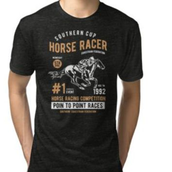 'HORSE RACER' T-Shirt by Super3