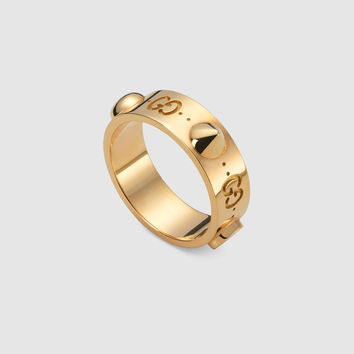 Gucci Good Gold Icon ring in rose gold