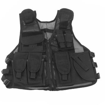 Outdoor Tactical Vest Combat Military Army Airsoft Hunting Vest for Shooting War Game Camping Hiking