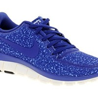 Nike Free Running 5.0 V4 Blue Trainers at asos.com