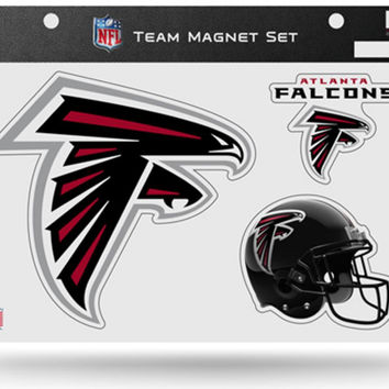 NFL Atlanta Falcons Team Magnet Set