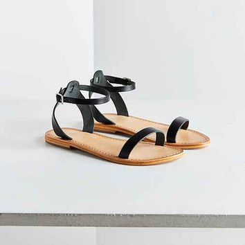 Hazel Leather Thin Strap Sandal